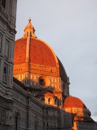 Firenze Dumo Tower at dusk (2)