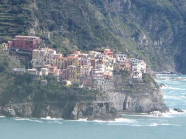 Manarola from Corgnilia