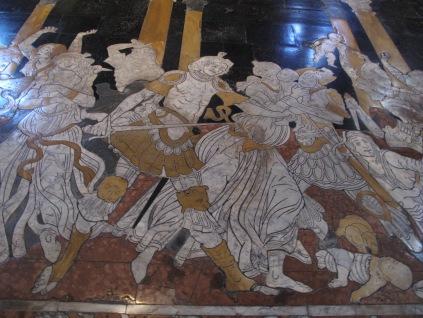 Sienna Duomo marble floor