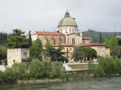 View across the Adige river