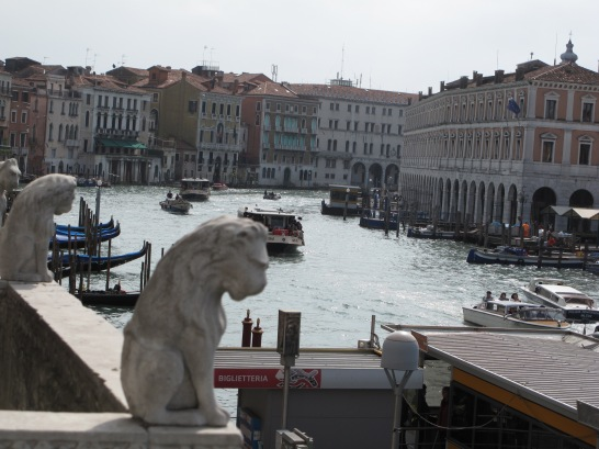 View of Grand Canal from Ca' dOro