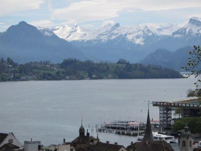 Lake Lucerne fromthe boat