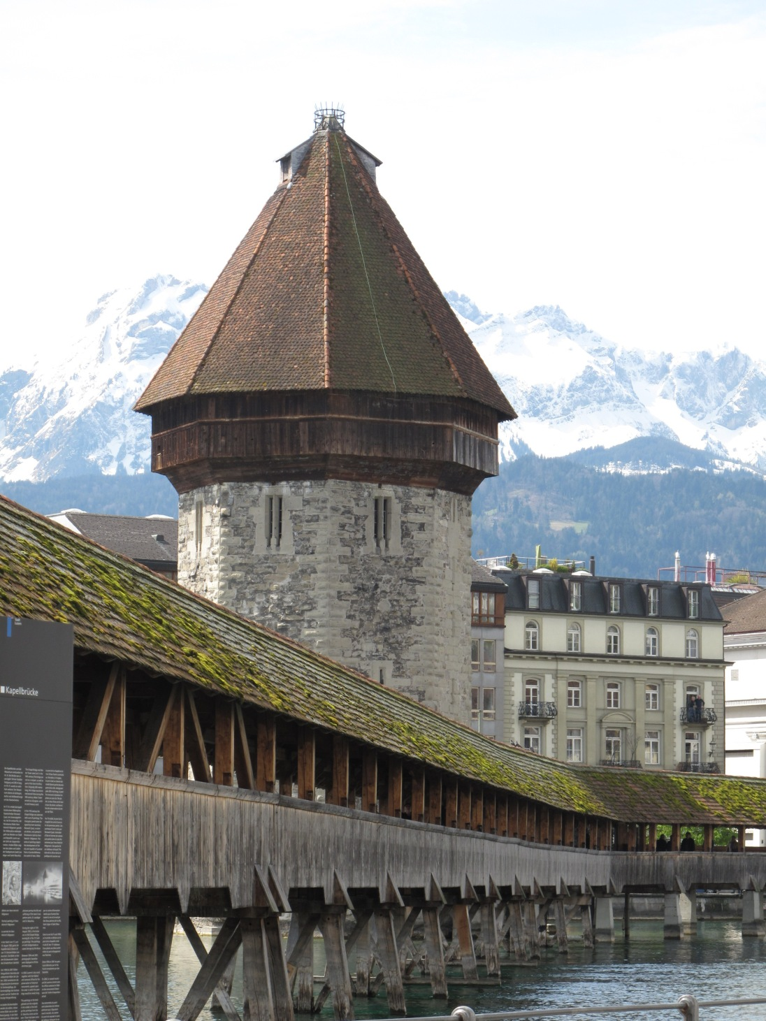 Lucerne and the medieval tower