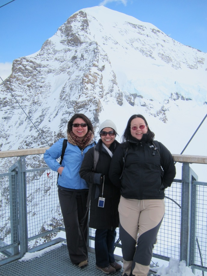 Jungfrau with friends